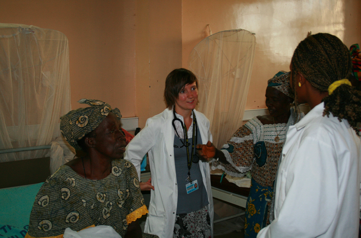 Ward Rounds Surgical Ward - The Gambia